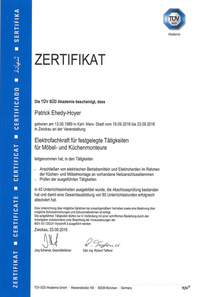 Zertifikat-senifix