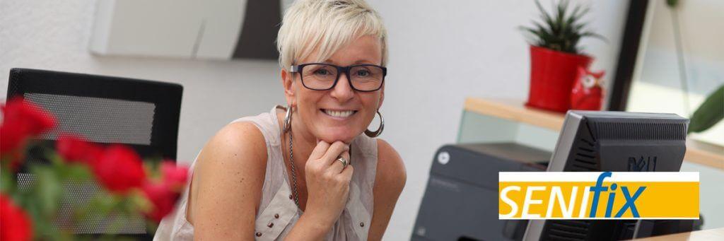 Inhaberin Frau Hoyer von der Senifix Umzugsfirma aus Chemnitz