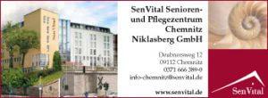 SenVital Senioren- und Pflegezentrum ist Partner von Senifix Chemnitz