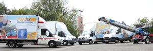 Fuhrpark Senifix Umzugsunternehmen Chemnitz